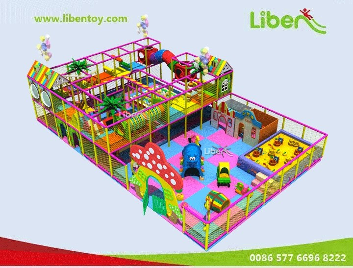 Toddler Indoor Play System   Indoor Play Center for Kids from 3-12 ...