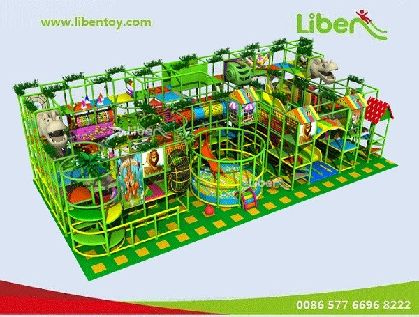 Indoor Play Structure for Family Center
