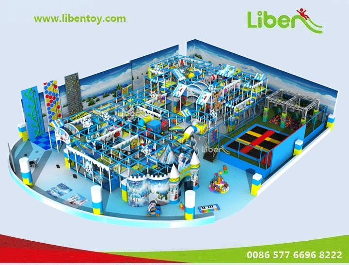 Indoor play structure supplier in China