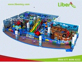 Supplier of Large Indoor Playground Design